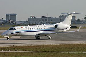 National Air Force of Angola - Angolan VIP Embraer ERJ-135BJ Legacy
