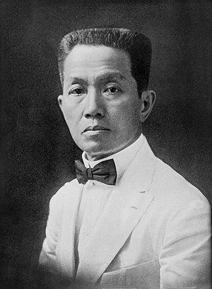 Emilio Aguinaldo - Image: Emilio Aguinaldo ca. 1919 (Restored)