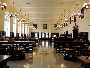 History of Emory University - Matheson Reading Room