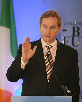 2010 in Ireland - Enda Kenny, ruler of Fine Gael, fought off a challenge from Richard Bruton in June.