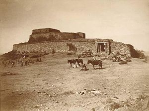 Giuseppe Galliano - Enda Yesus Fort, Mek'ele, Ethiopia, ca. 1890