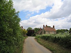Entering Elsthorpe from Grimsthorpe - geograph.org.uk - 176350.jpg