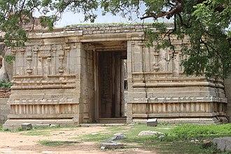 Hampi - Entrance of a Temple in Hampi