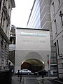Entrance to Cannon Bridge House, Dowgate Hill, London - geograph.org.uk - 1730028.jpg