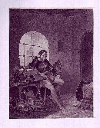 Eppelein von Gailingen - Eppelein in prison.