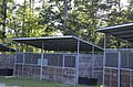 Equestrian campground horsestall at James River State Park (29109017655).jpg