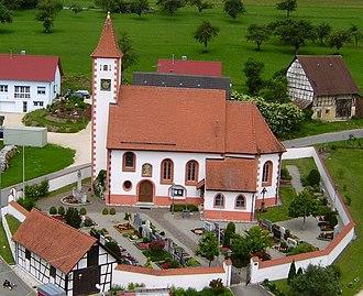Ehingen - Erbstetten St.-Stefanus-Kirche