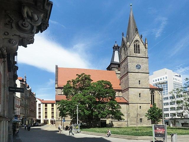 kaufmannskirche sehensw rdigkeit in erfurt deutschland reisef hrer tripwolf. Black Bedroom Furniture Sets. Home Design Ideas