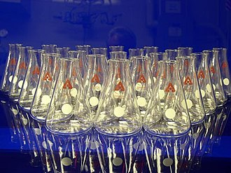 Laboratory flask - Erlenmeyer flasks from the Argonne National Laboratory.