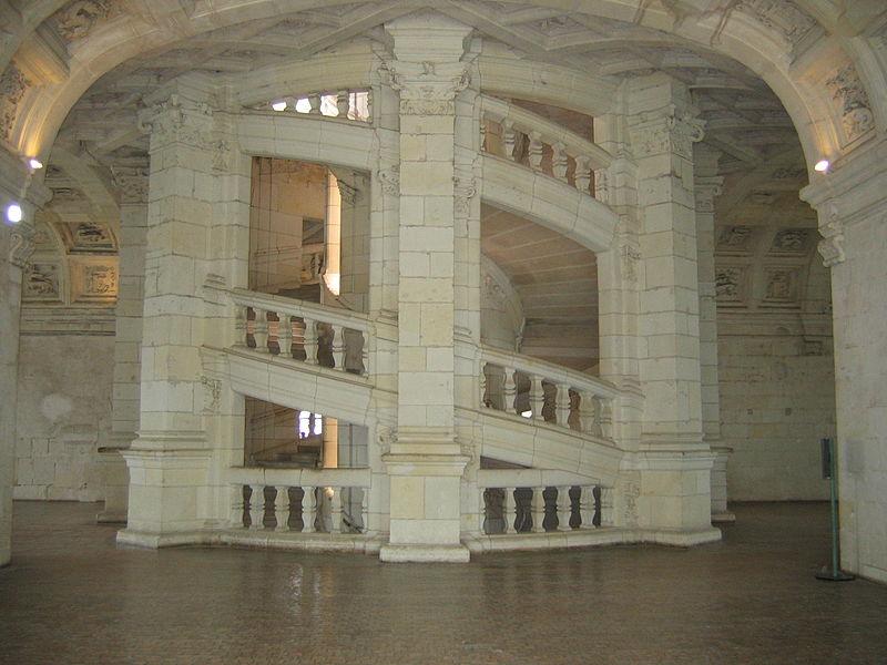 File escalier wikimedia commons - Escalier colimacon double niveau ...