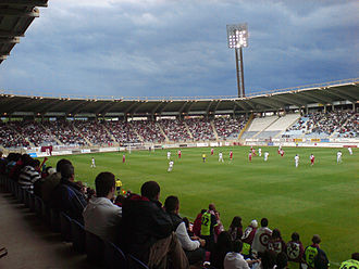 Cultural y Deportiva Leonesa - C. Leonesa vs. Sabadell, in the 2008–09 Segunda División promotion playoffs