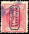 Estampilla española de las Islas Marianas 5 cent 1898-99.jpg