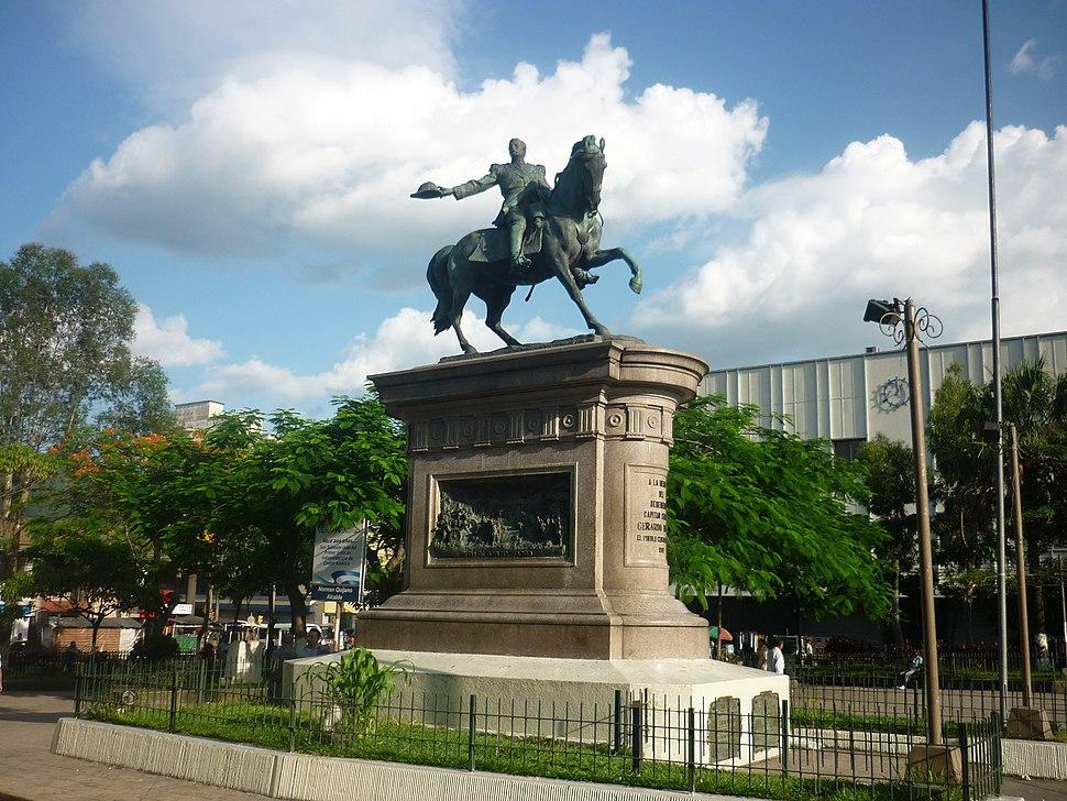 Estatua de Gerardo Barrios