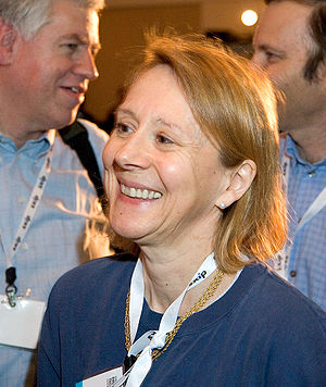 Release 1.0's Esther Dyson. This photograph wa...