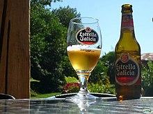 Estrella Galicia. From Wikipedia ...