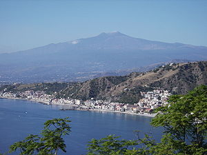Etna from Taormina 2006