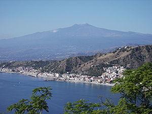 Etna from Taormina 2006