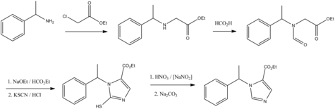 Etomidate synthesis.png