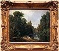 Eugène-louis lami, paesaggio in un parco, 1850 ca.jpg