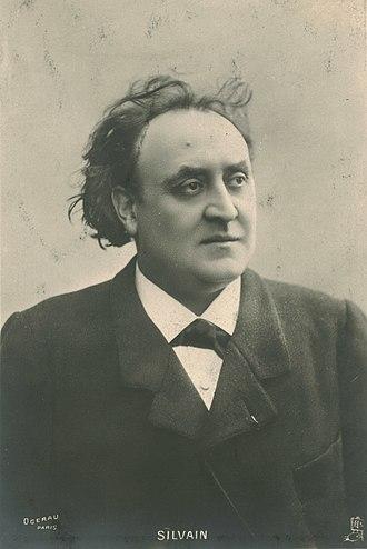 Eugène Silvain - Eugène Silvain in 1917