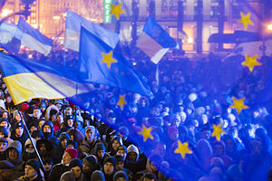 Eastern Partnership - Pro-EU demonstration on 27 November 2013 in Kiev