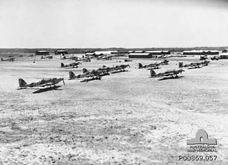 Evans Head, New South Wales - Fairey Battle aircraft, 1941