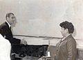 Ex presidente don eduardo freí montalva con la Sra. Elena vega..jpeg