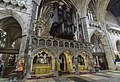 Exeter Cathedral, Pulpitum and Organ (36926136441).jpg