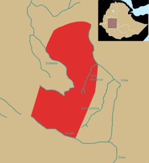 Ennarea former kingdom in southwestern Ethiopia