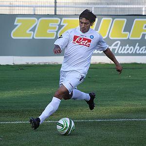 Ezequiel Lavezzi - Lavezzi in 2009, during his spell with Napoli.