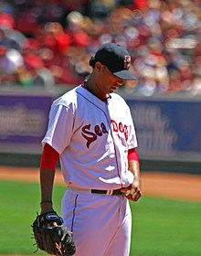 Félix Doubront on August 8, 2009, Futures at Fenway.jpg
