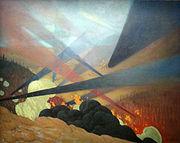 Félix Valloton-Verdun. Tableau de guerre-1917