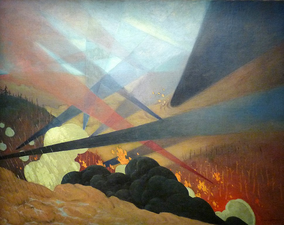 F%C3%A9lix Valloton-Verdun. Tableau de guerre-1917