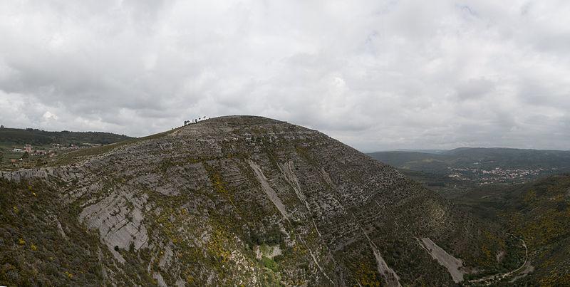 cadeias montanhosas da Europa Montejunto-Estrela