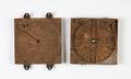 Förvaringsfodral av ek till astrolabium - Skoklosters slott - 92898.tif