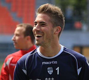 FC Lorient - May 24th 2013 training - Benjamin Lecomte 1.JPG