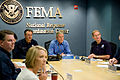 FEMA - 37765 - President Bush and FEMA Administrator Paulison and Deputy Admini.jpg