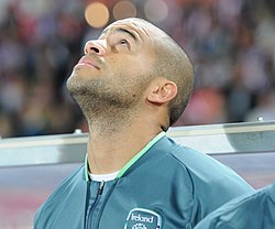 FIFA WC-qualification 2014 - Austria vs Ireland 2013-09-10 - Darren Randolph 01.JPG