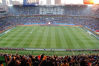 Ellis Park Stadium - Image: FIFA World Cup 2010 Slovakia Italy