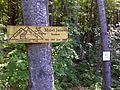 FLT CT6 13.1 mi - Two signs, Mabel James section and hunting closure - panoramio.jpg