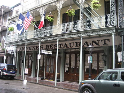 Antoines Restaurant New Orleans Famous Dishes