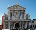 Façana de l'església de santa Maria de Natzaret, Scalzi, Venècia.JPG