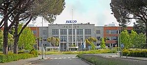 Pegaso - Pegaso factory in Madrid.