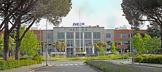 Pegaso - Pegaso factory in Madrid.
