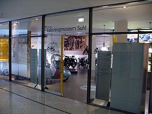 Suhl - Fahrzeugmuseum (entrance)