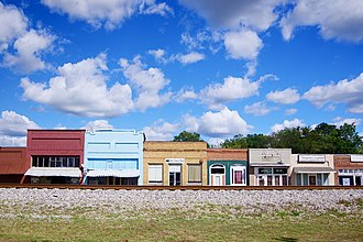 Falkville, Alabama - Railroad Street