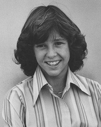Kristy McNichol - McNichol on the set of Family in 1977
