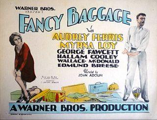 <i>Fancy Baggage</i> 1929 film