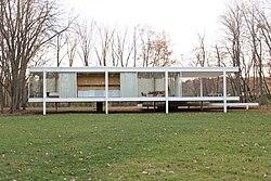Casa Farnsworth Wikipedia La Enciclopedia Libre