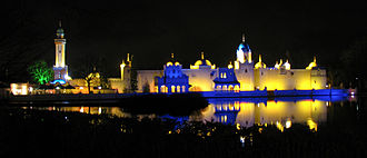 Fata Morgana (Efteling) - Fata Morgana at night